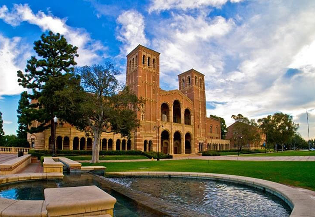 UCLA Royce Hall Building
