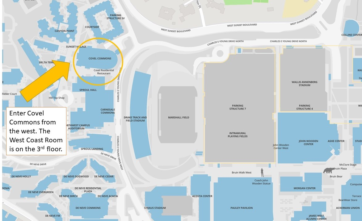 Map of Covel Commons