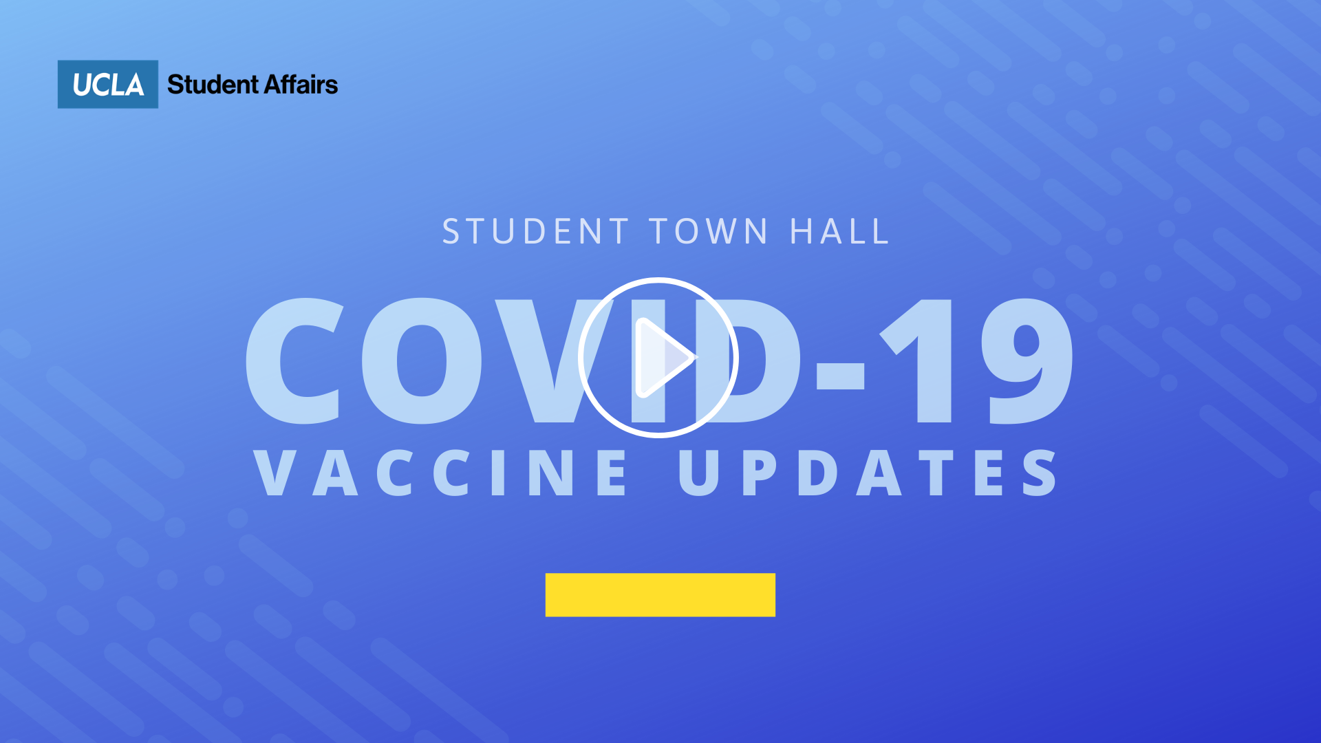 Student Townhall COVID-19 Vaccine Updates
