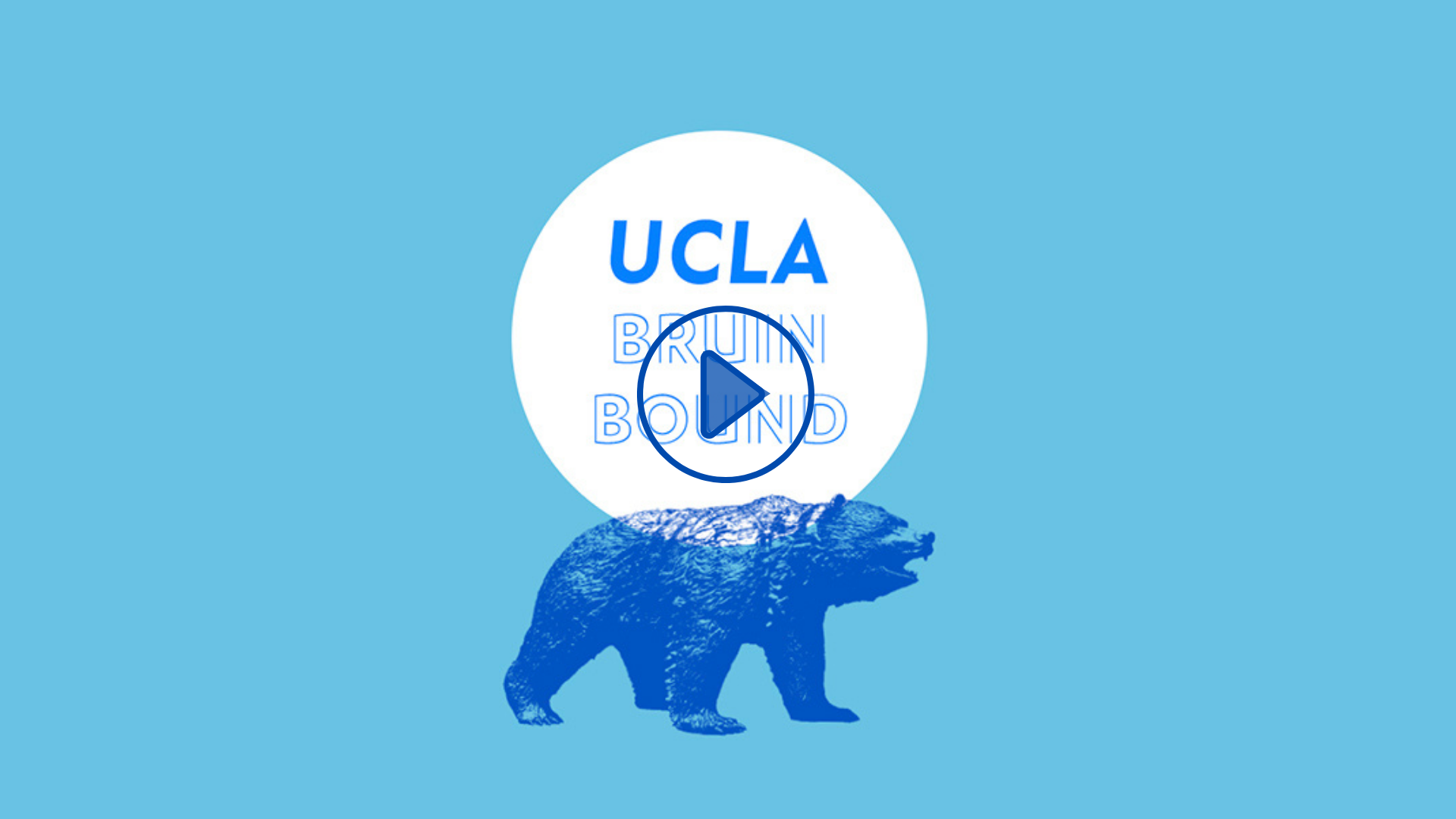 Guidebook BruinBound Opening video with UCLA Bruin Bear