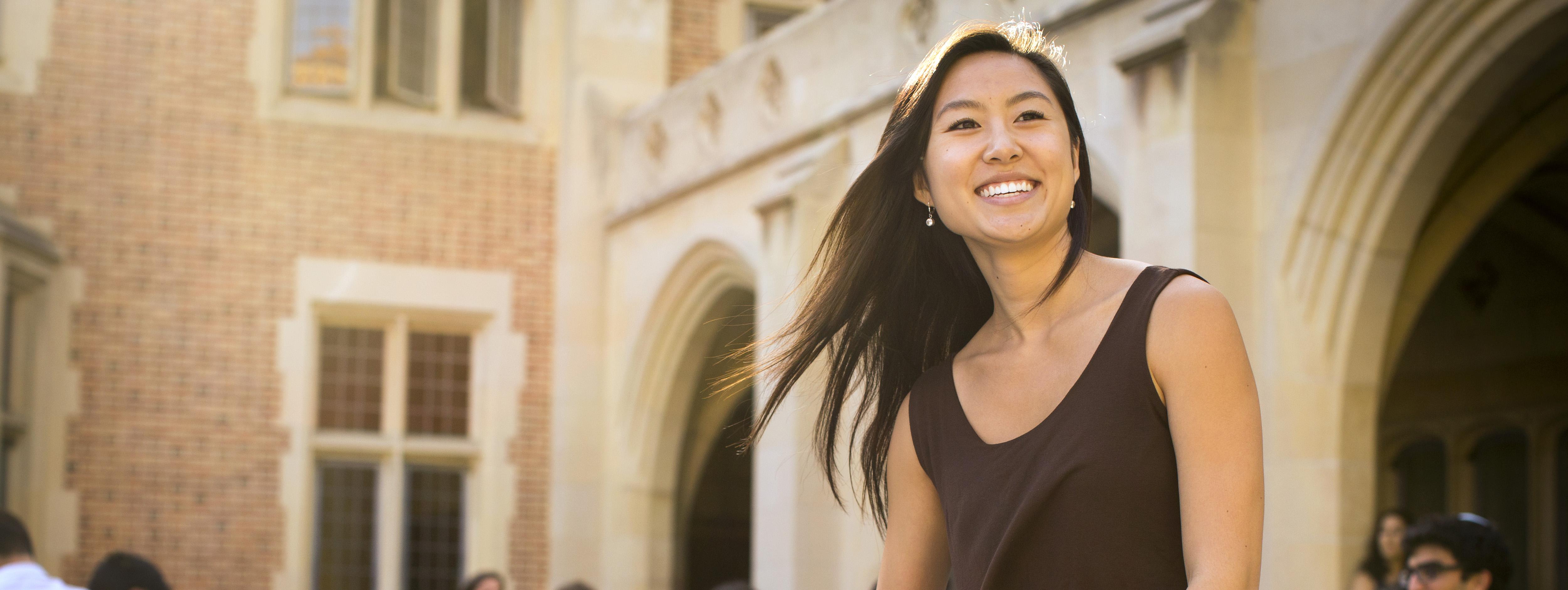 UCLA student