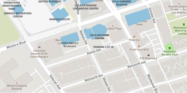 Map of Wilshire Center