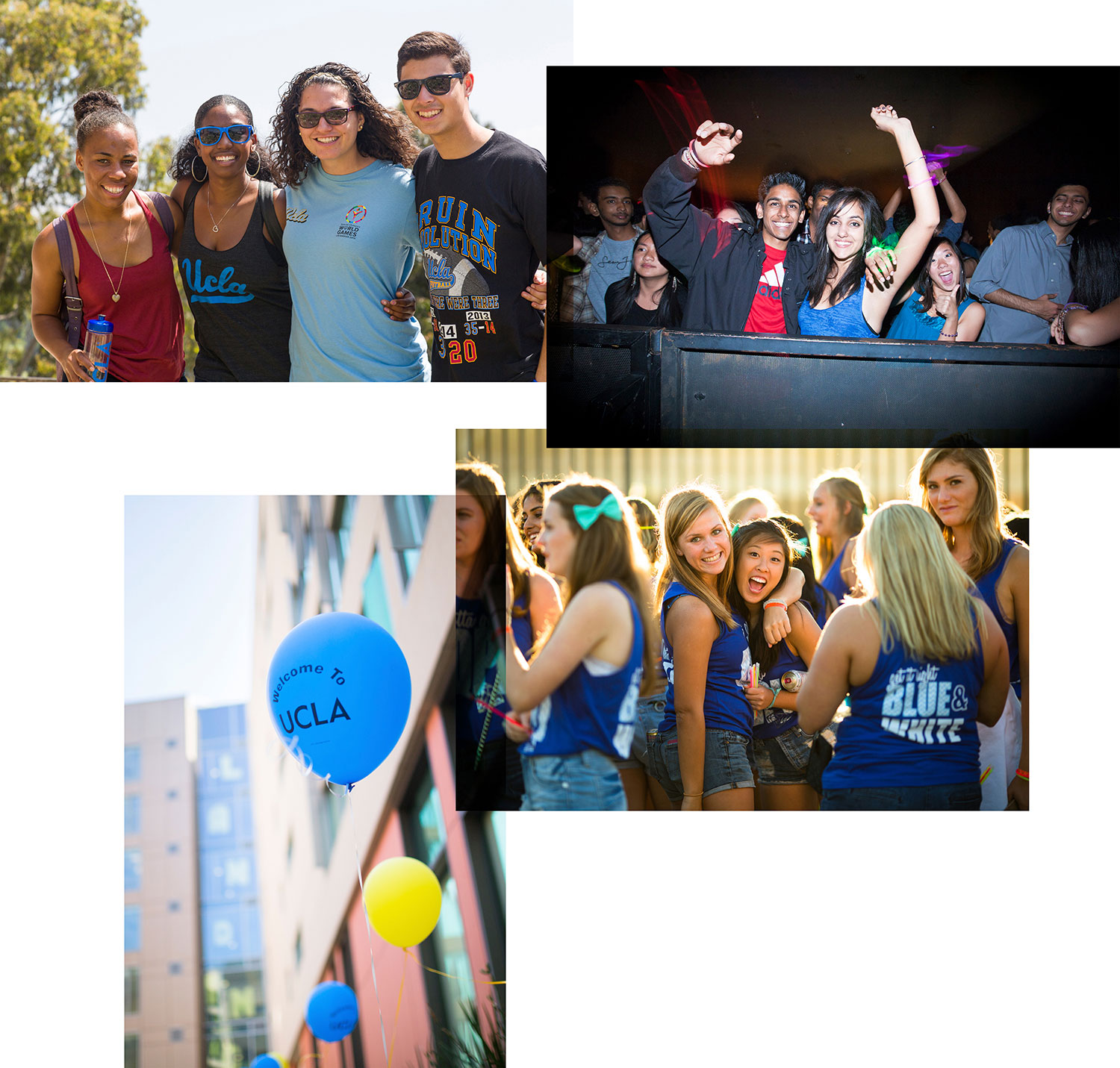 True Bruin Welcome Events Collage